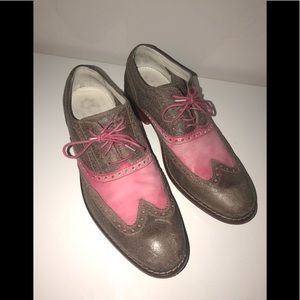 Cole Haan Shoes - Cole Haan Nike Air Leather Oxford Lace Up Sneakers